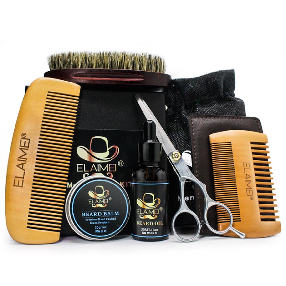 инструменты по уходу за бородой