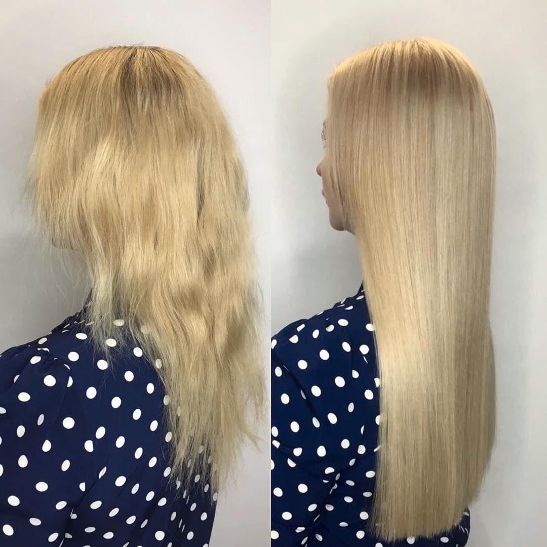 как отрастить волосы до и после