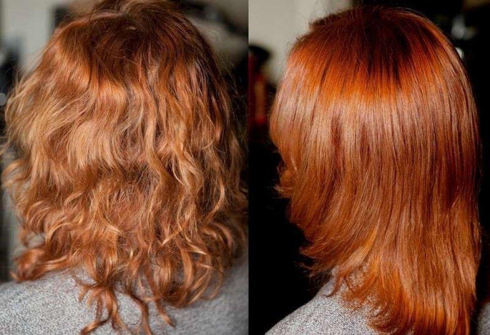 Хна фото до и после