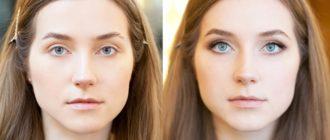 макияж для больших глаз