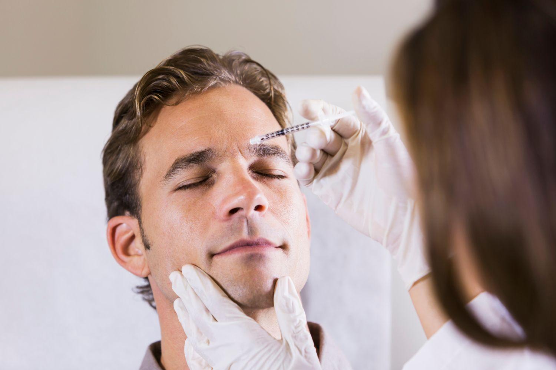 Инъекции ботокса для мужчин