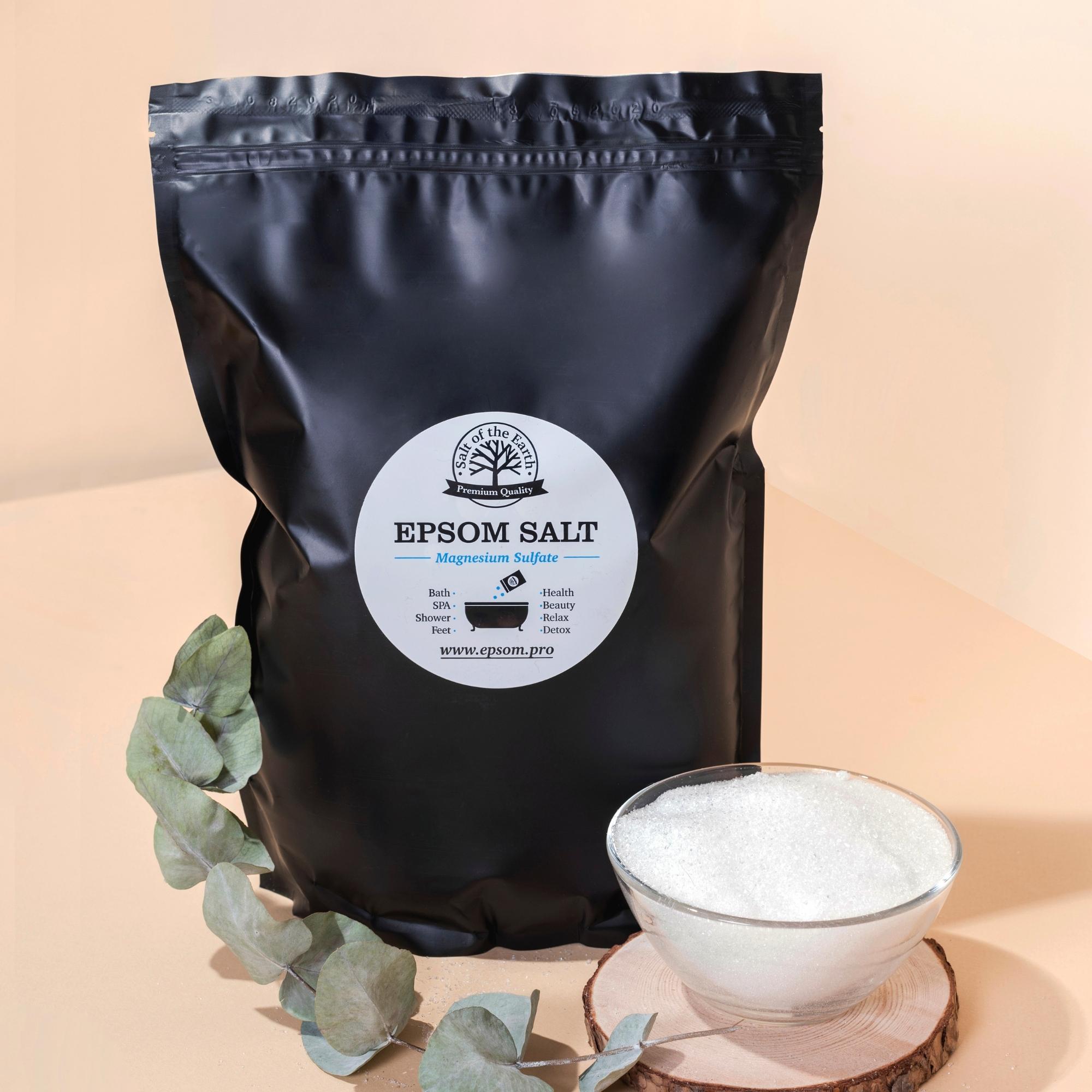 Английская соль Epsom Salt
