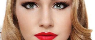 макияж для серо-зеленых глах